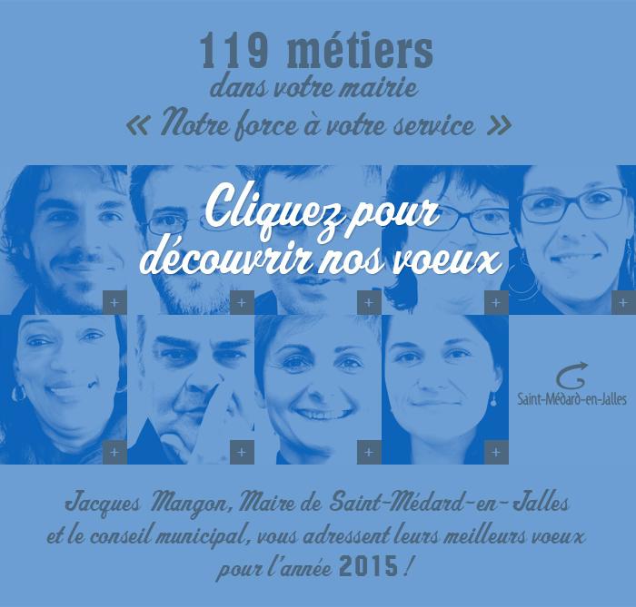 Voeux 2015 Saint Médard en Jalles