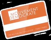 Adhérer au MoDem de Saint Médard en Jalles